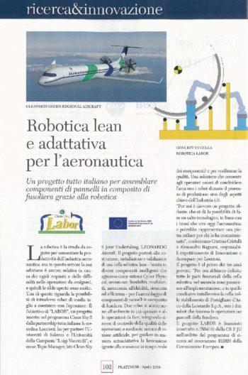 LABOR_Platinum Magazine-anteprima